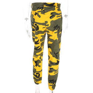 Lemon Camo Pants