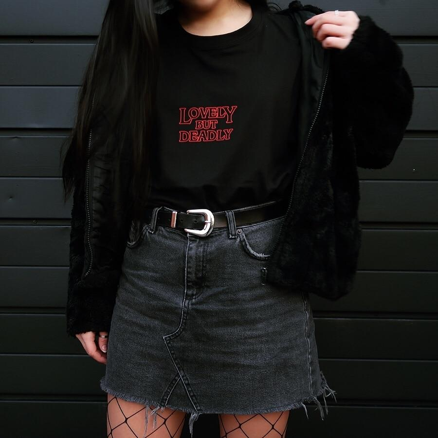 Lovely But Deadly Tee