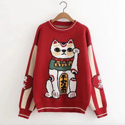Lucky Cat Sweater