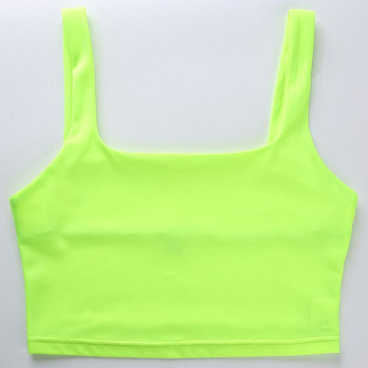 Neon Cropped Top