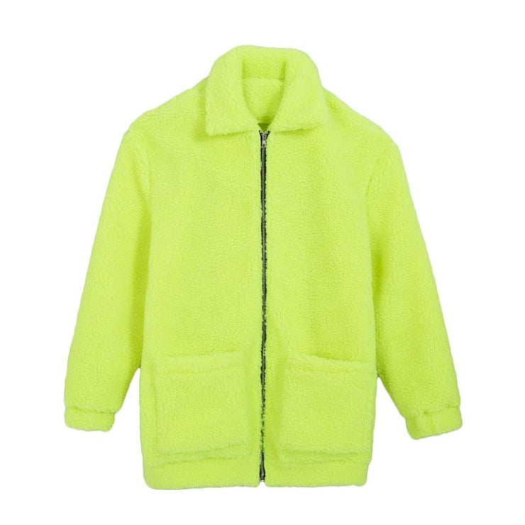 Neon Fleece Jacket