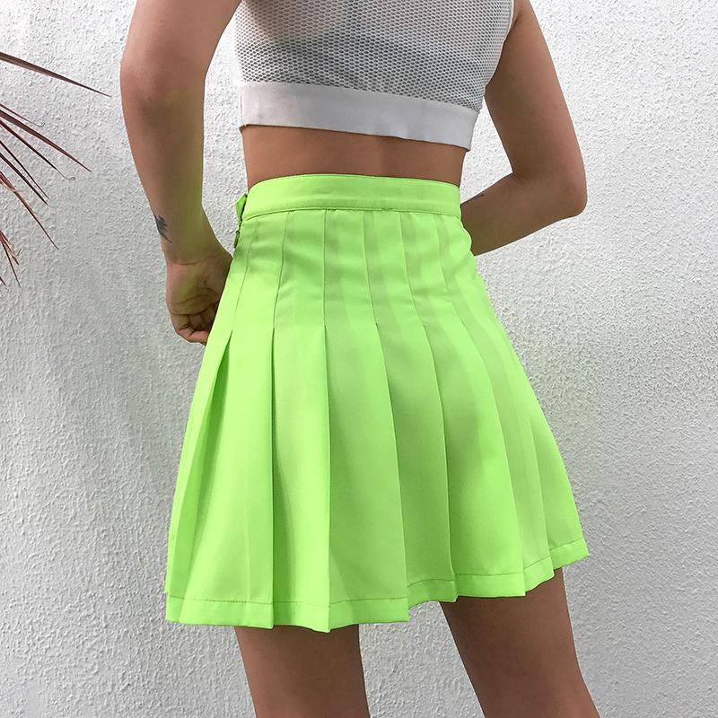 Neon School Girl Skirt