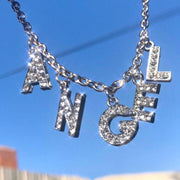 Pendant Letter Necklace
