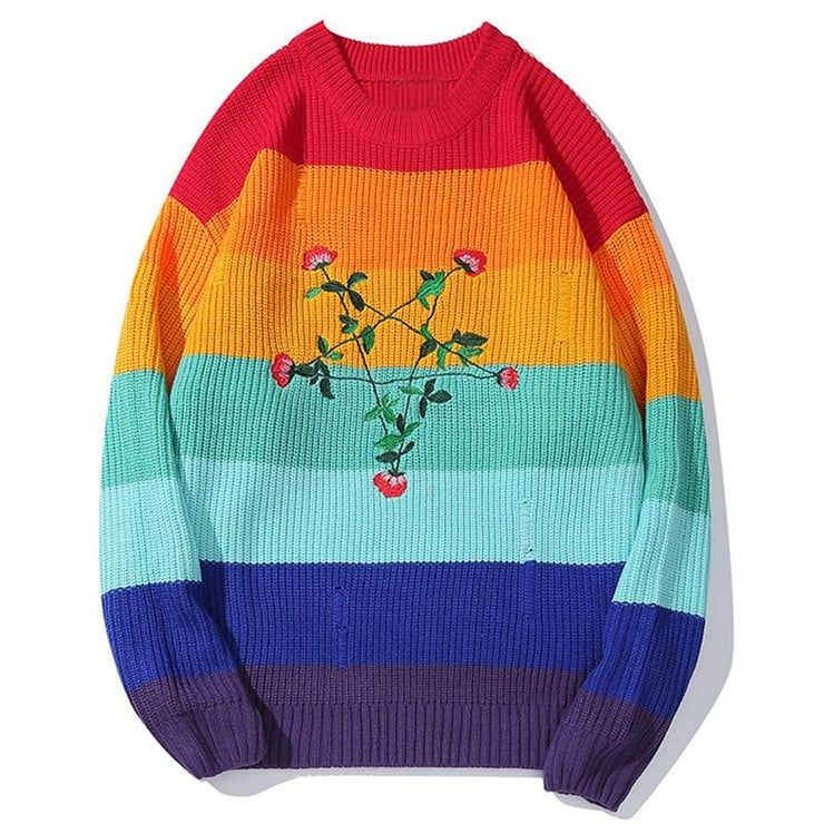 Pentagon Rainbow Sweater