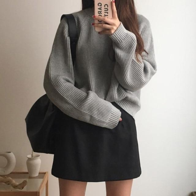 Plain Fisherman Jumper