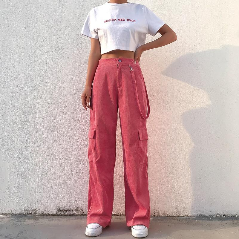Raspberry Work Pants