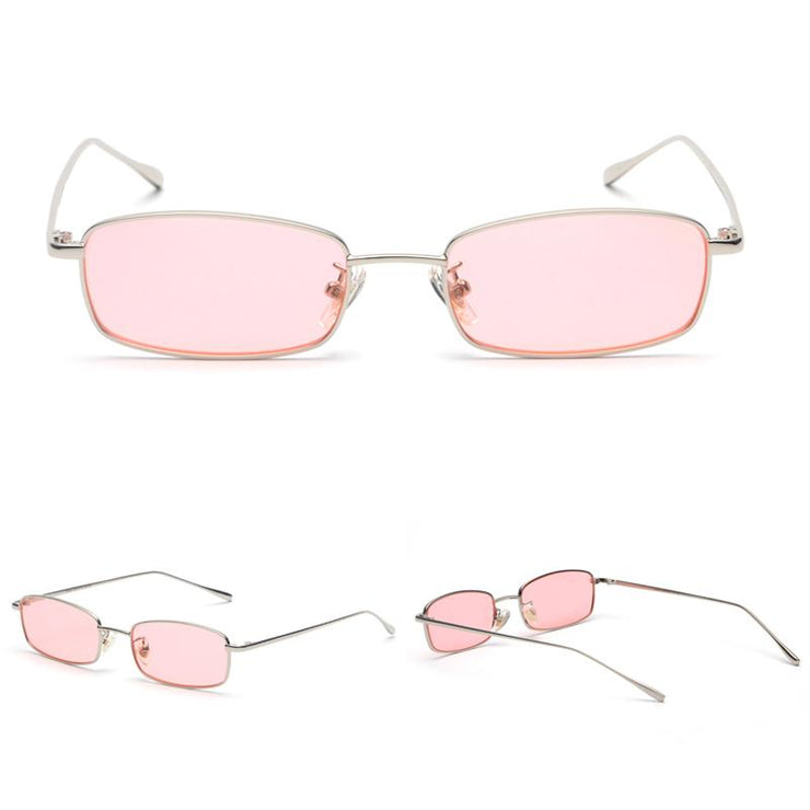 Rectangular Retro Sunglasses