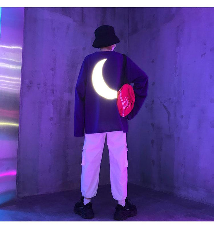 Reflective Moon Sweatshirt