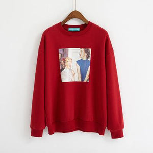 Retro Girls Sweatshirt