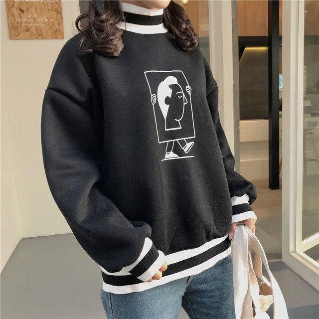 Retro Profile Sweatshirt