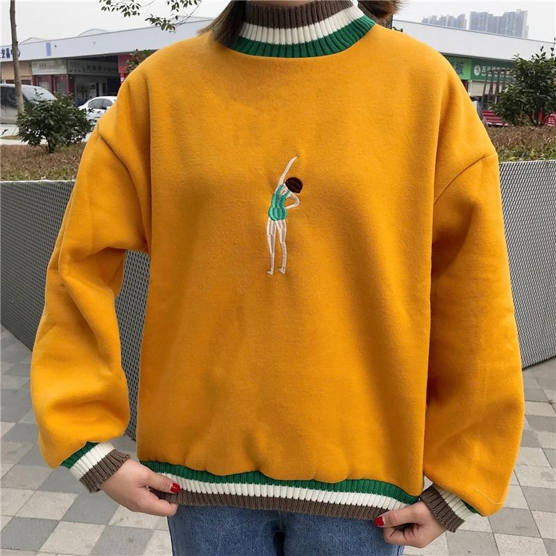 Retro Swimmer Sweatshirt
