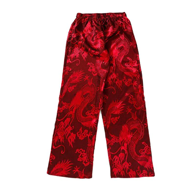 Satin Dragon Pants