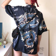Short Sleeve Dragon Shirt