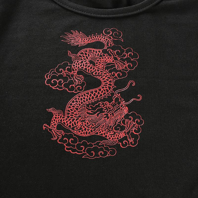 Simple Dragon Long Sleeve