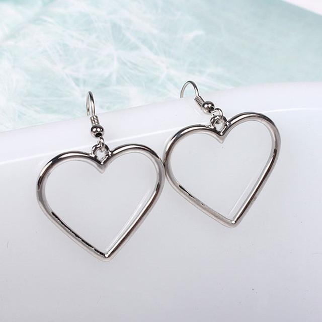 Simple Heart Earrings