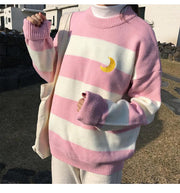 Striped Moon Jumper