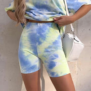 Tie Dye Bicycle Shorts