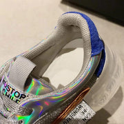 Transparent Holographic Sneakers