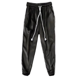 Two Stripes Satin Joggers