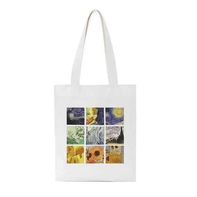 Van Gogh Canvas Bag