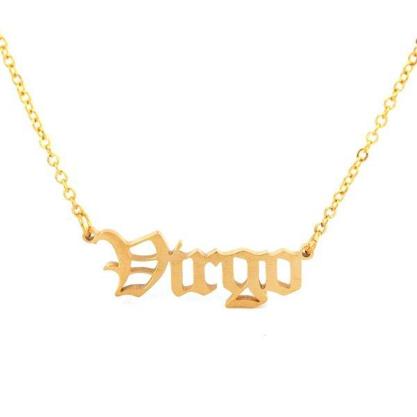 Virgo - Zodiac Necklace