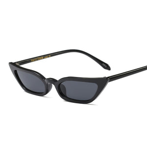 Wide Cat Eye Sunglasses