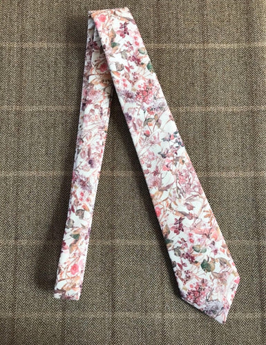 Liberty Print Neck Tie 'Wild Flowers'