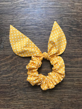 Scrunchie 'Polka Dot' Yellow