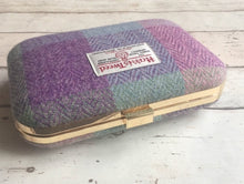 Pastel Check Harris Tweed Clutch Bag