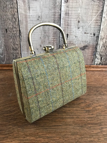 Boston Tweed Clutch Bag