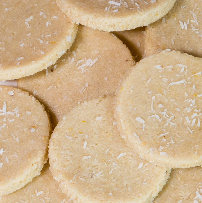 Raw Vegan Lemon Shortbread