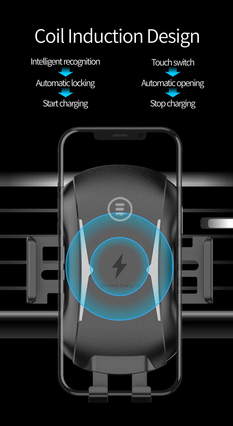 CR8-CWC Car Mount Wireless Charger By CRE8 SOUNDS