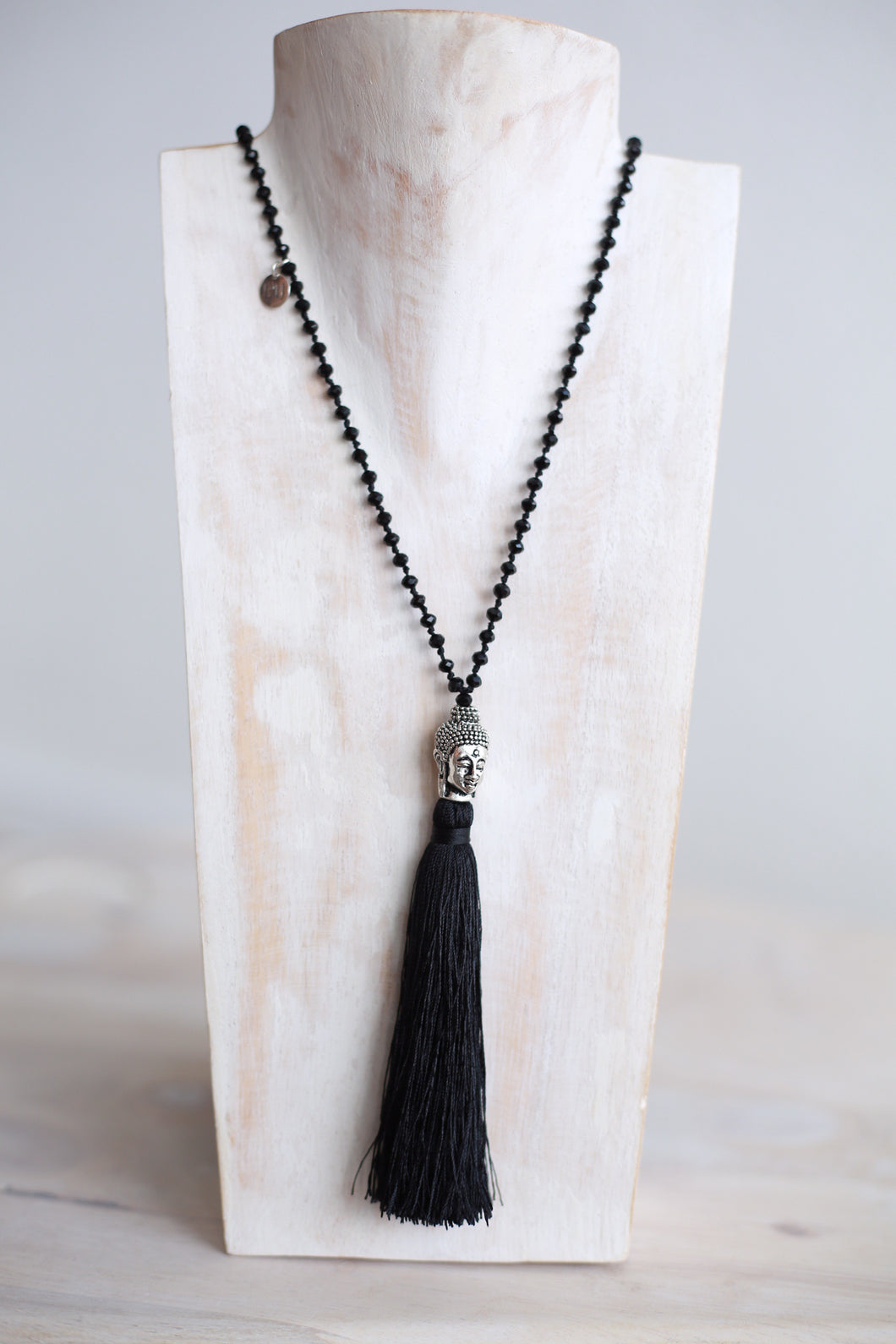 INIKA necklace with silver buddha