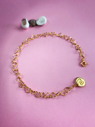 Cinta MINI bracelet 22k gold plated