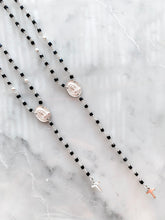 MADONNA ROSARY short necklace