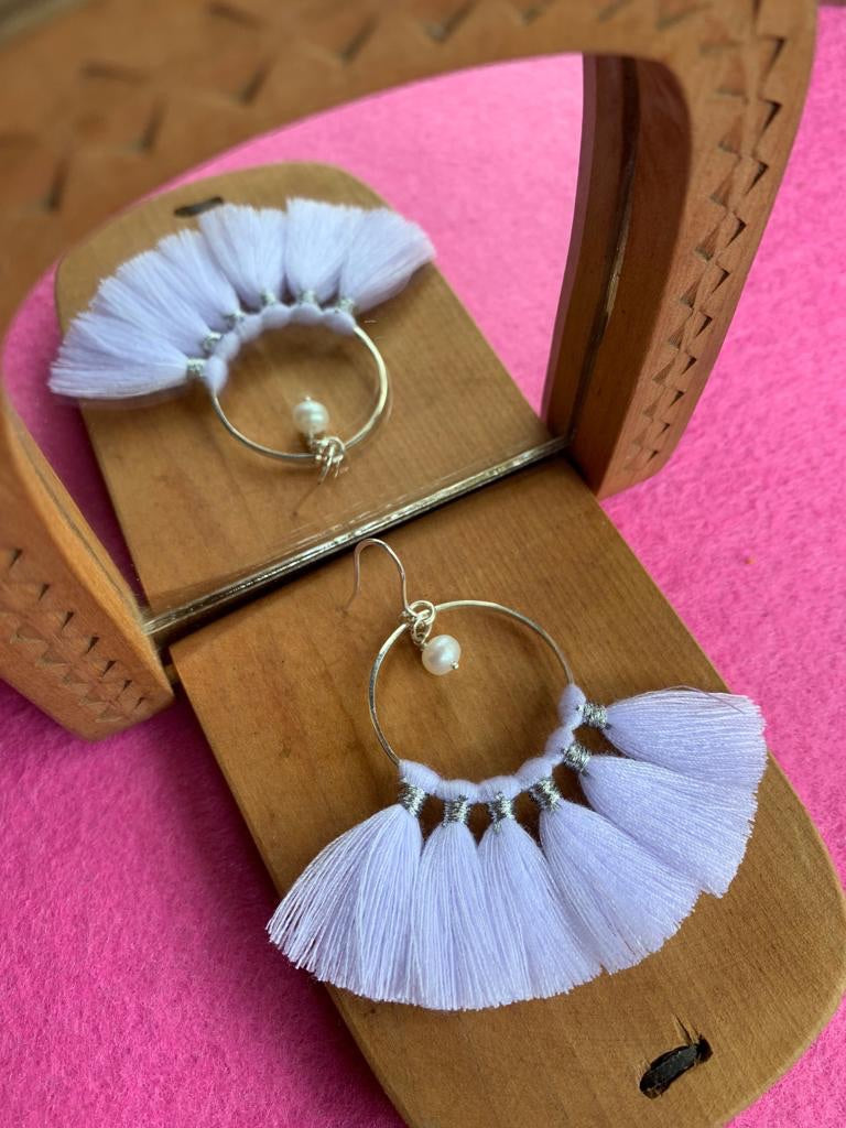 KIPAS WHITE earrings