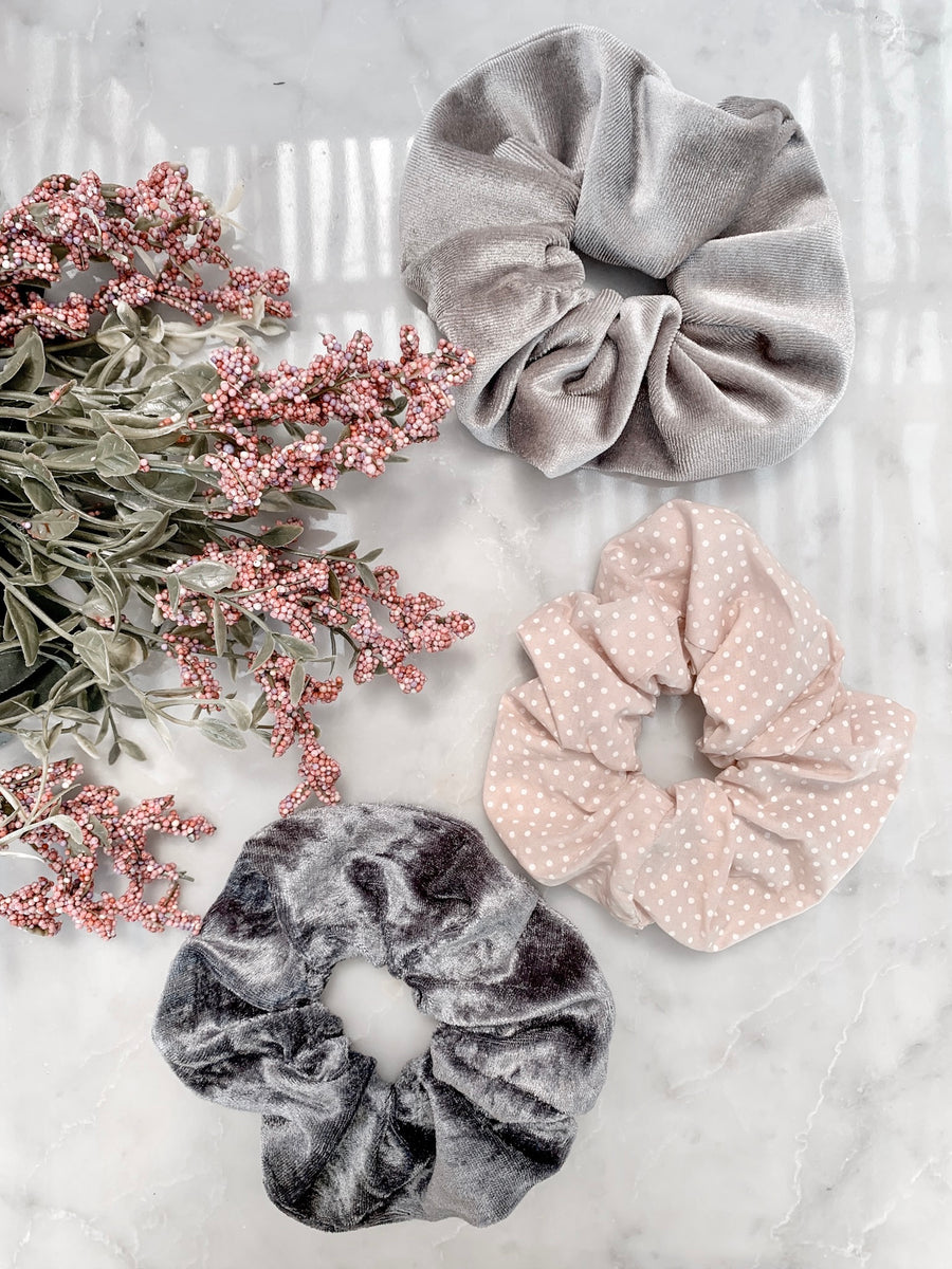 Scrunchie set POPPY