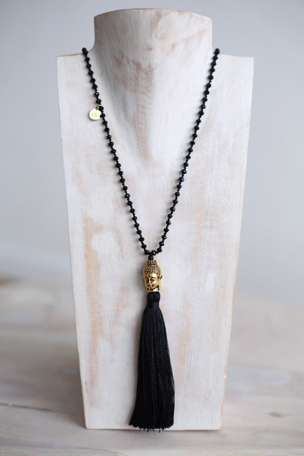 INIKA necklace with gold buddha