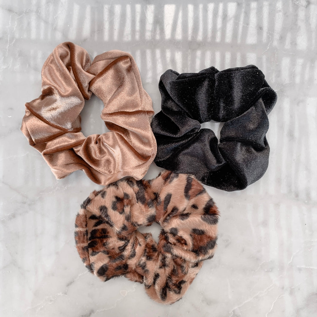 Scrunchie set SAVANA