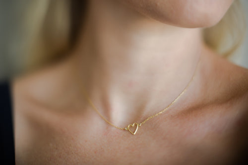 CINTA necklace - 22k gold plated