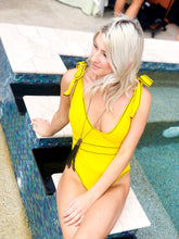 Sunkissed BowTie Yellow One Piece