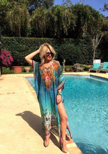 Tahiti Dreams Long Kaftan