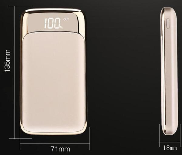2USB + LED POWER BANK for HUAWEI - fully charges up to 7 times!