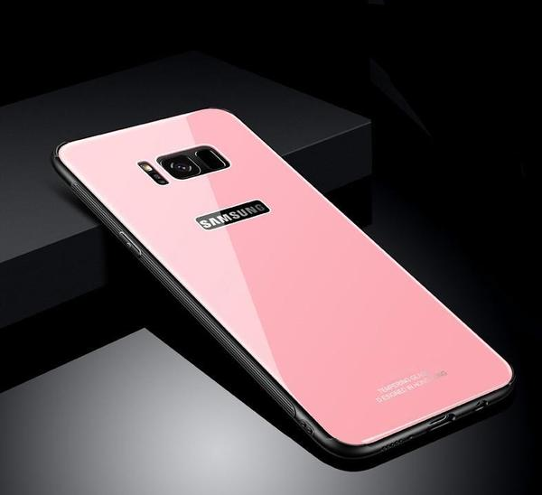 Premium Triple-Layer Tempered Glass Case for Samsung S8/S8+/NOTE8
