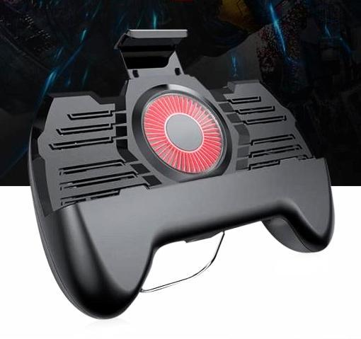 3- in-1 Gamepad - Universal support; cooling fan; charger