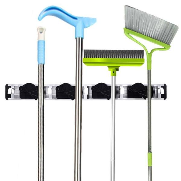Household rack to hang cleaning tools