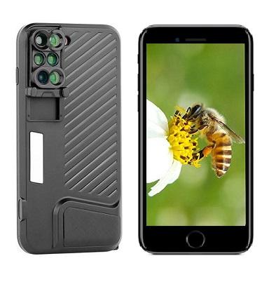 SWITCH 6® case - transform your iPhone 7 Plus/8 Plus in a pro camera!