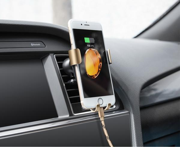 2-in-1 Car smartphone support for iPhone