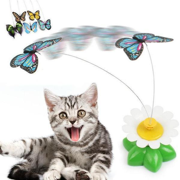 Electric Rotating Toy for Cats