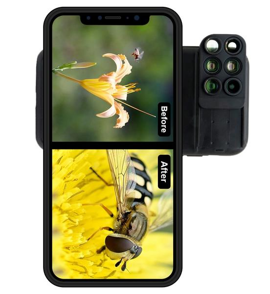 SWITCH 6® case - transform your smartphone in a pro camera!
